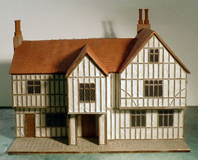 BK203 1:48 Timber Framed Building Kit - The Guildhall