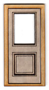 D115 1:24 Single Pane Glazed External Door
