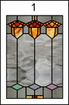 D115SG 1:24 Stained Glass Insert for D115