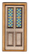 D116S 1:24 Stained Glass Insert for Door D116