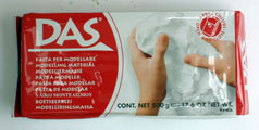 DAS500 air drying clay (500g)