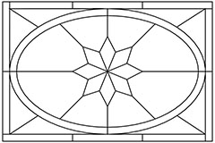 1:12 Parquet floor centre pattern 1