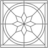 1:12 Parquet floor centre pattern 2