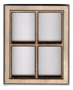 W101 1:24 Four Pane Casement Window