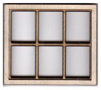 W102 1:24 Six Pane Casement Window