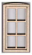 W105 1:24 Single Casement Window