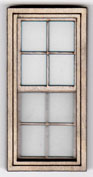 W114 1:24 Small Georgian Sash Window