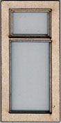 W120 1:24 Single Casement Window