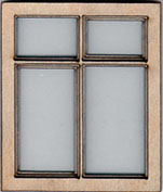 W121 1:24 Double Casement Window