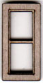 W200 1:48 Two Pane Casement Window