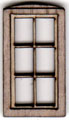 W205 1:48 Single Casement Window