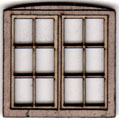W206 1:48 Double Casement Window