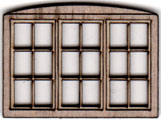 W207 1:48 Triple Casement Window